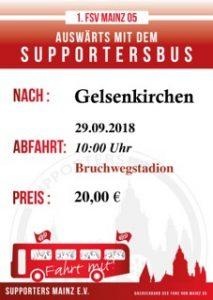 Schalke Supportersbus